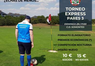 Horarios de salida Torneo Express