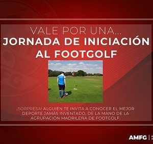 Vale Regalo Footgolf AMFG