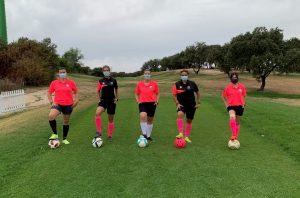 Equipo Ladies Madrid FootGolf